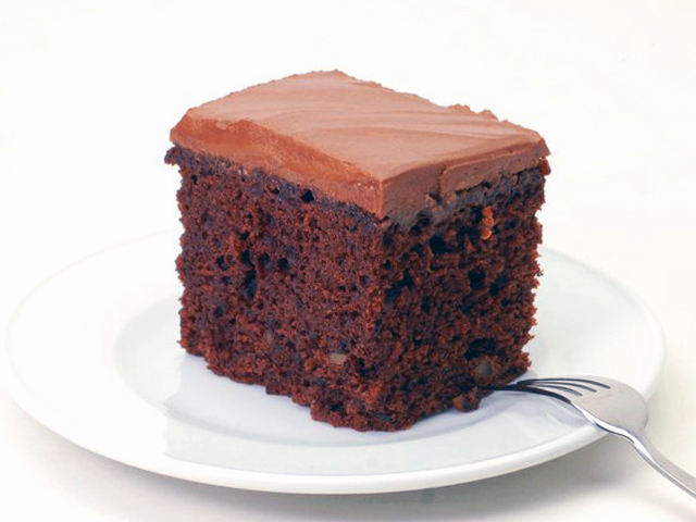 Dale's classic Chocolate Walnut Cake