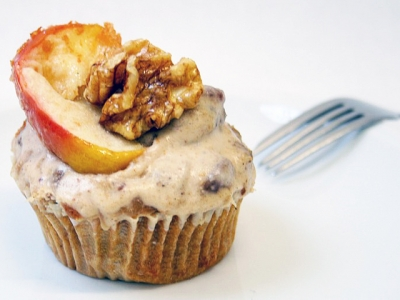 Apple-Spice Cupcake